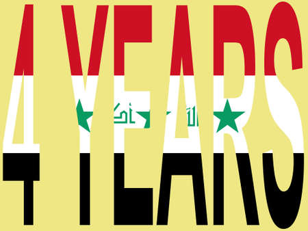 liberation: four years since the liberation of Iraq illustration
