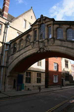 Bridge of Sighs Oxford United Kingdom  photo