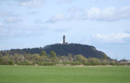 wallace: william wallace monument Stirling Scotland Stock Photo