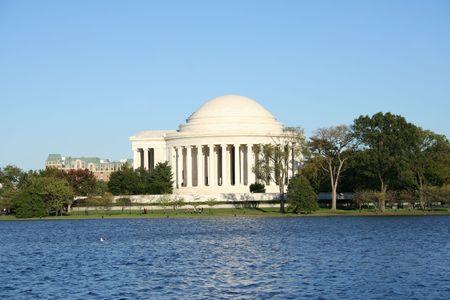 jefferson: Jefferson Memorial Washington DC USA