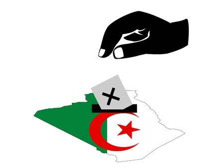 Algierski: głosu ze strony algierskich głosowanie w wyborach