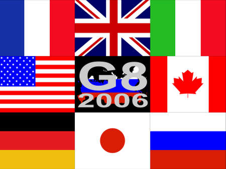 G8 summit was hosted in Russia in 2006 photo
