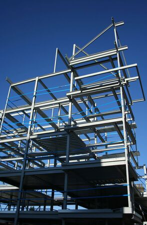metal frame of new building Stock Photo - 950335