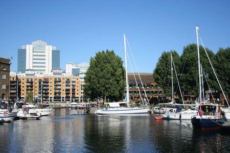 condos: yachts and condos at St Katherines dock London