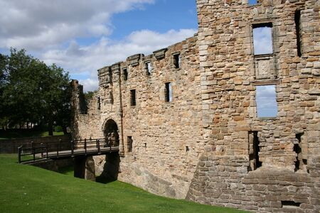 Ruin of St Andrews castle Fife Scotland Stock Photo - 1566044