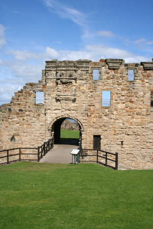 Ruin of St Andrews castle Fife Scotland Stock Photo - 1566039