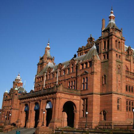 art gallery: Kelvingrove museo e galleria d'arte di Glasgow Scozia Archivio Fotografico