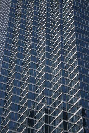 ridged: blue ridged skyscraper windows background