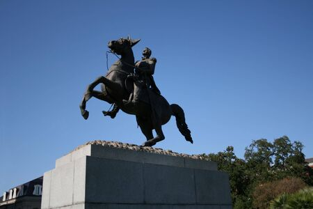 jackson: Statue of Andrew Jackson, Jackson Square New Orleans
