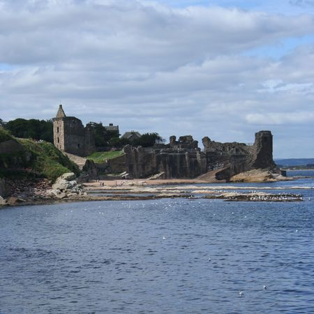 St Andrews castle by the coast photo