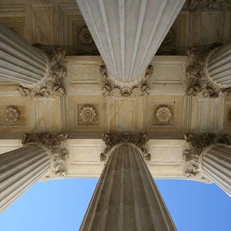supreme court: Supreme court columns Washington DC usa