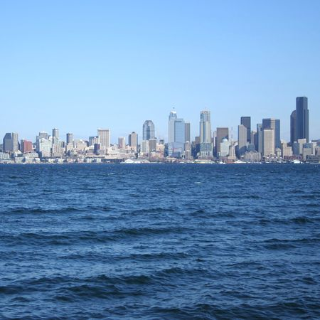 puget: Seattle skyline and Puget Sound