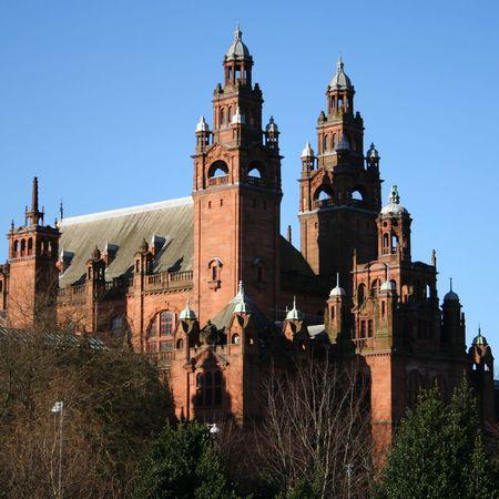 art gallery: Kelvingrove galleria d'arte e Museo di Glasgow in Scozia
