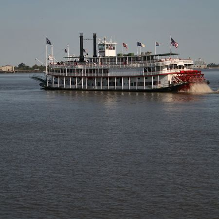 paddle steamer on Mississippi River New Orleans photo