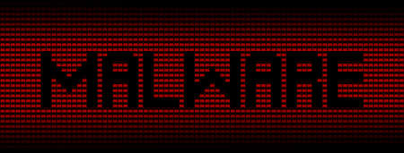 malicious software: Malware text on red laptops background illustration