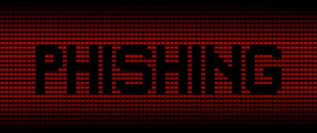 explocion: texto de phishing en los ordenadores portátiles de color rojo de fondo ilustración Foto de archivo