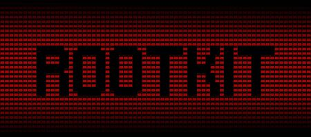 Rootkit text on red laptops background illustration Stock Photo