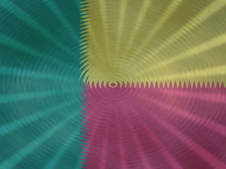 Benin flag background with ripples and rays illustration