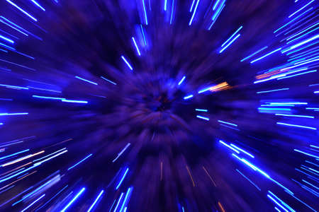 luminescent: Abstract speed technology background Stock Photo