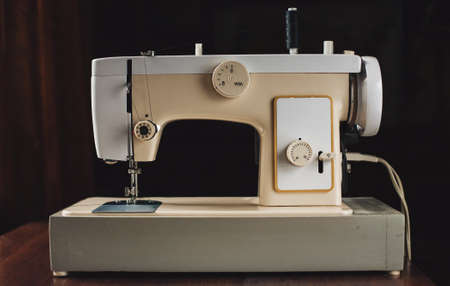electric material: Vintage sewing machine