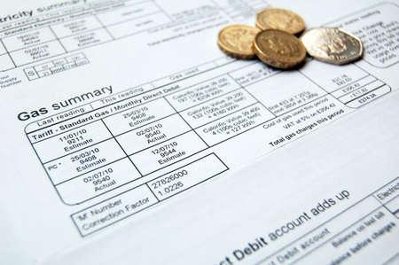 factura: proyecto de ley de energ�a y monedas para el pago