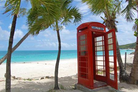 Antigua phone box photo