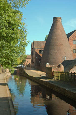 old bottle kiln in Shropshire, UK