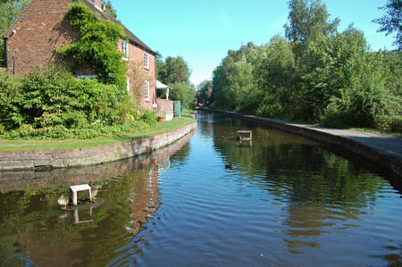 coalport canal, shropshire, uk Stock Photo - 11914195