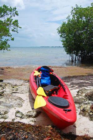 kayak: kayak expedition in the Florida Keys