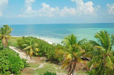 honda: view of Bahia Honda beach in the Florida Keys