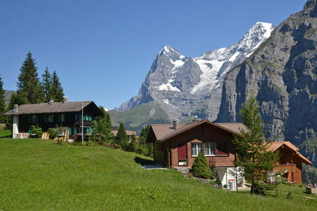 monch: Murren Eiger View