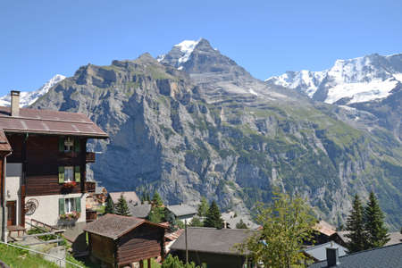 Murren mountain view