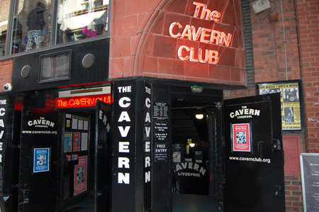 LIVERPOOL - April 5  the entrance to the Cavern Club in Liverpool, UK on April 5, 2012  The Cavern Club is famous for where The Beatles played in the early 1960s