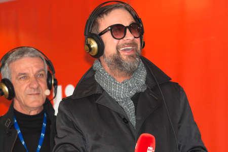 sanremo: Sanremo Festival 2015. Rai2 interview Marco Masini