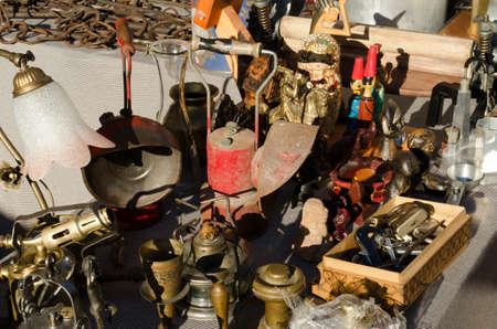 tr�delmarkt: Flohmarkt Lizenzfreie Bilder