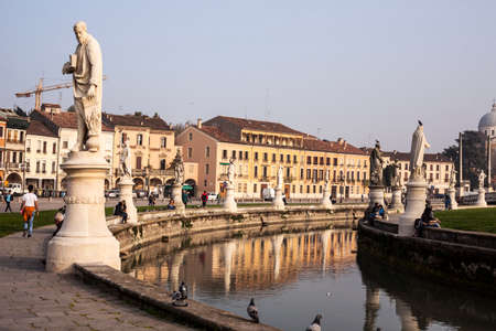 Bishops seat at the head of one of the largest and oldest diocese in Italy is universally known as the City of the Holy name by which it is called St. Anthony in Padova, the famous Portuguese Franciscan Editorial