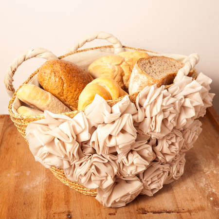 A Selection Of Various Types Italian Bread Stock Photo