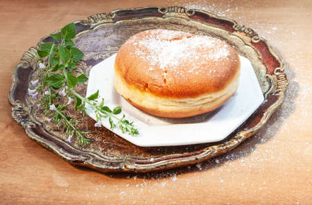 The famous giant krapfen from Trojane, in Slovenian Lower Styria Reklamní fotografie