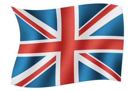Flag of England Foto de archivo