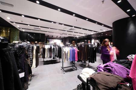 pracoviště: luxus a módní evropské různé oblečení obchod