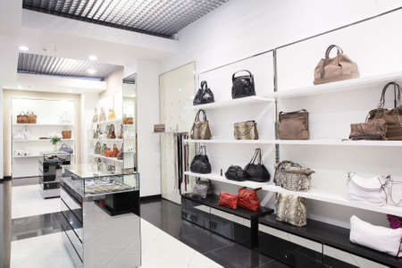 bright and luxury european bag and jewellery store
