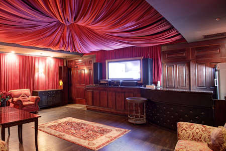 new and clean luxury karaoke in european style Stock Photo - 21557119