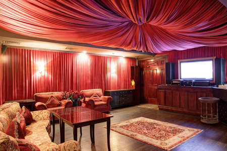 new and clean luxury karaoke in european style Stock Photo - 21557120