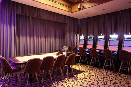 brand new and luxury casino in european style photo