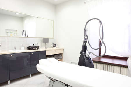 medical room: brand new and empty european luxury medical clinic Stock Photo