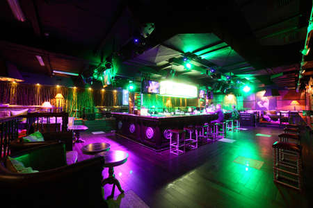 new and clean luxury night club in european style Reklamní fotografie - 22159547