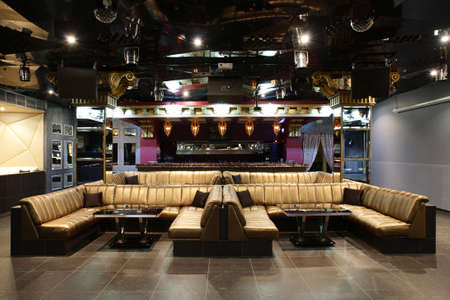 new and clean luxury night club in european style photo