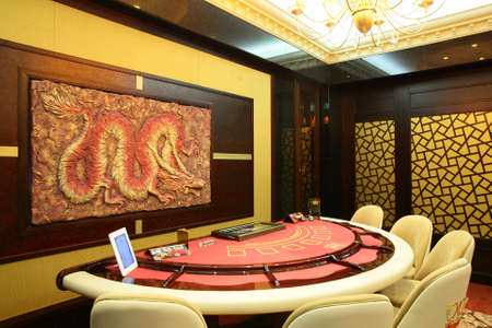 brand new and luxury casino in european style photo