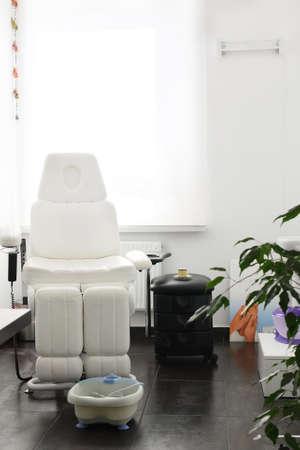 bright modern and luxury european spa room