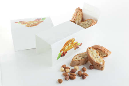 italian ethnicity: sweet and tasty cantuccini